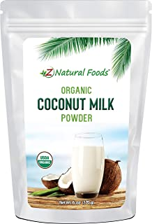 Z Natural Foods Organic Coconut Milk Powder - All Natural Creamer - 6 oz