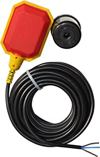 Float Switch w / 33ft Cable, Water Tank, Sump Pump (5 Year Warranty)