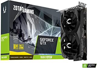 ZOTAC Gaming GeForce GTX - Tarjeta gráfica (GeForce GTX 1660 Super Twin Fan, 6 GB GDDR5, 192-bit, 1785 MHz, 8 Gbps, PCI Express 3.0)