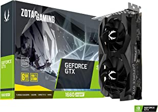 ZOTAC Gaming NVIDIA GeForce GTX 1660 Super Twin Fan Super 6GB Graphics Card