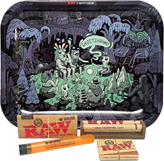 Bundle - 5 Items - RAW Large Rolling Tray