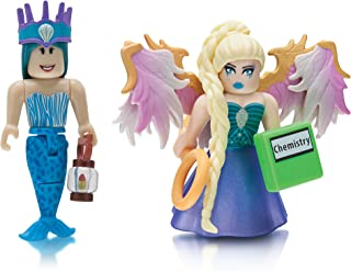 Roblox Celebrity Figure 2 Pack, Neverland Lagoon: Crown Collector & Royale High School: Enchantress