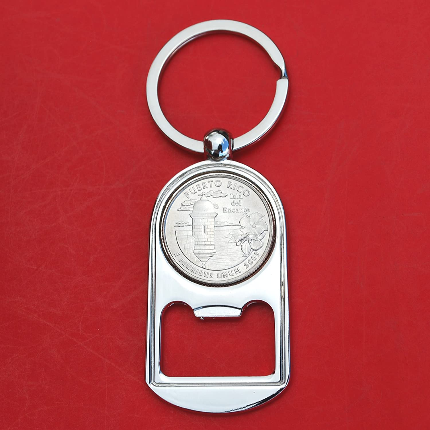 US Nippon regular agency Shipping included 2009 Puerto Rico Quarter BU Silver Uncirculated Key Tone Coin