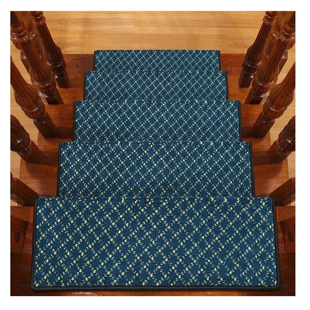 H- Alfombra de Escalera Escaleras Alfombras Alfombras Paso 24x65cm Alfombras Almohadillas Antideslizante Pasillo del Pasillo Colores Múltiples (Color : C, Size : 20 Pieces Set): Amazon.es: Hogar