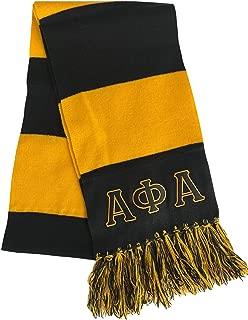 Alpha Phi Alpha Fraternity Mens Scarf