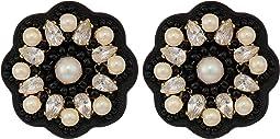 Desert Garden Button Studs Earrings