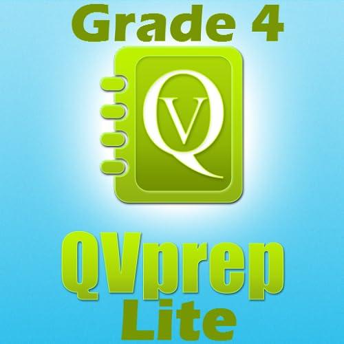 Livre QVprep Lite 4 ª série matemática (quantitativo) e Inglês (verbal) a capacidade prática testes de preparação para a 4 ª série matemática vocabulário questionário padrão núcleo comum
