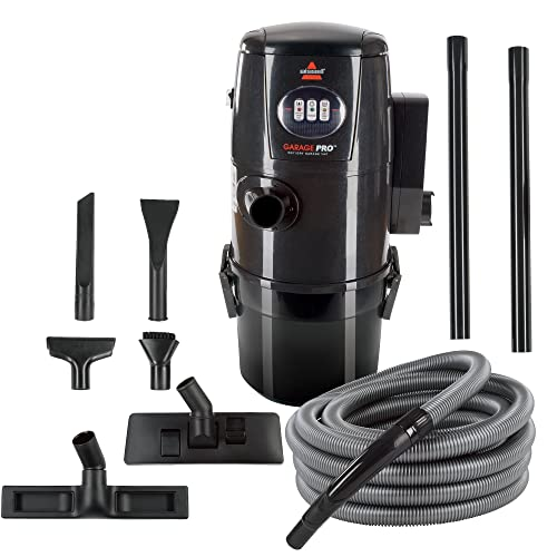 Bissell Garage Pro Wall-Mounted Wet Dry Car Vacuum/Blower With Auto Tool Kit