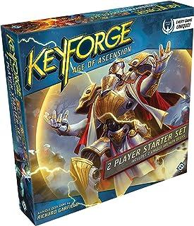 Fantasy Flight Games KeyForge: Age of Ascension Two-Player Starter Card Game Standard