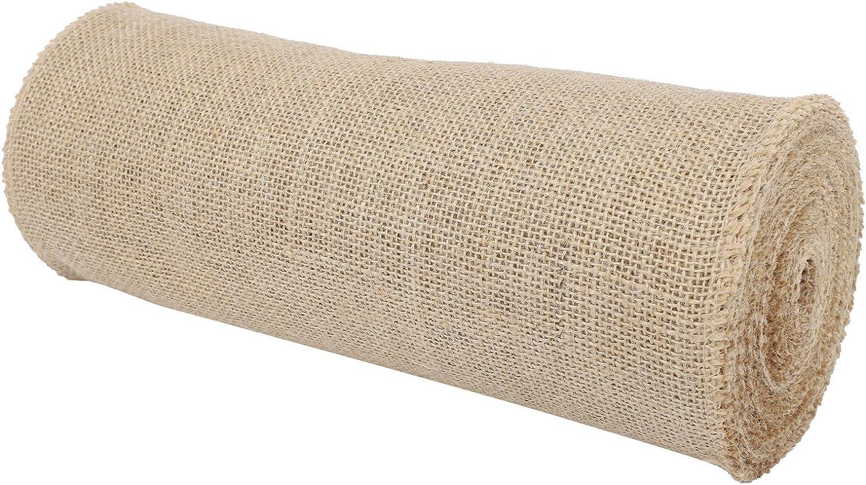 DIY Burlap Roll Elegant Attractive E Hand‑Made Ribbon Sale item Now on sale