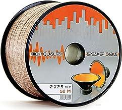 Suchergebnis Auf Für 50 Meter 2 Adriges Lautsprecherkabel