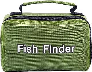 Lixada Bolsa de Almacenamiento para Buscador de Peces Estuche de Transporte para Cámara de Pesca Submarina en Hielo de 4.3...
