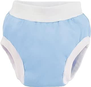 Kushies Baby PUL Training Pant, Blue, Small