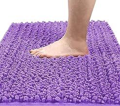 Yimobra Original Luxury Shaggy Bath Mat, 24 x 17 Inches, Soft and Cozy, Super Absorbent Water, Non-Slip, Machine-Washable,...