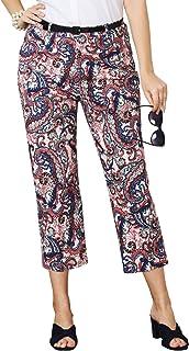 Jessica London Women`s Plus Size Stretch Poplin Crop Pant
