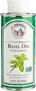 La Tourangelle, Basil Infused Sunflower Oil, 8.45 Fl. Oz.