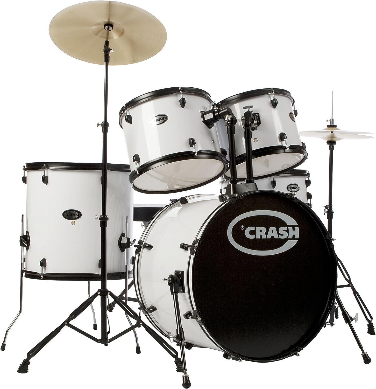 para barato Force Five DrumSet, blanco, negro negro negro HW  echa un vistazo a los más baratos