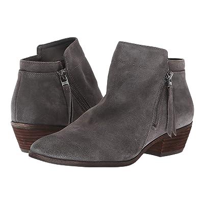 Sam Edelman Packer (Steel Grey Velutto Suede Leather) Women