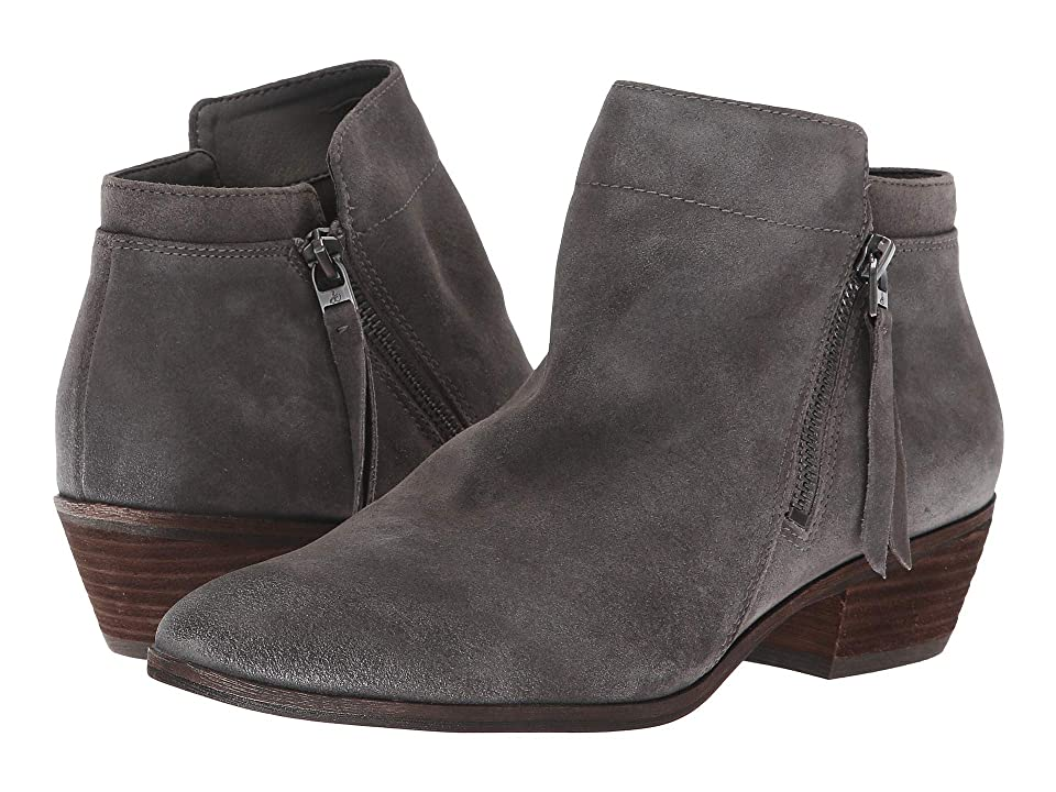 Sam Edelman Packer (Steel Grey Velutto Suede Leather) Women