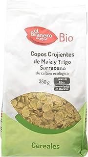 comprar comparacion Granero Copos Crujientes de Maíz Y Trigo Sarraceno Bio 350 Envase de 350 Gramos