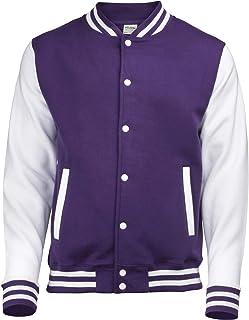 891d2a49cfdf40 Amazon.com  Purples - Varsity Jackets   Lightweight Jackets ...