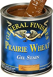 General Finishes PQ Oil Base Gel Stain, 1 Quart, Prairie Wheat