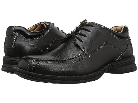 A Moc Fiduciaire Noir Orteil En Cuir Dégringolé Dockers Oxford Leatherdark Tan X7qgXwf