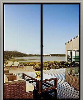 MAGZO Screen Door Magnets 70 x 79, Durable Fiberglass Door Mesh with Full Frame Hook&Loop for Entry Door Fits Door Size up...