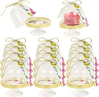 Talking Tables Truly Alice Mad Hatter Cake Domes for a Tea Party or Wedding, Multicolor (12 Pack)