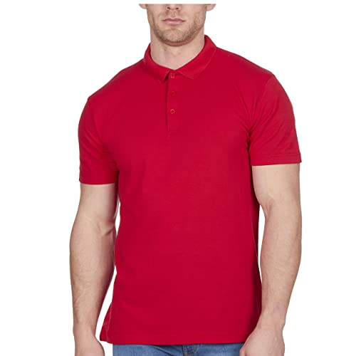 new with tags Mens New look dark red T-shirt sizes M /& L