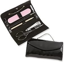 Kate Aspen, Manicure Set, Little Black Purse with Chain Handle, Party Favor, Travel Kit