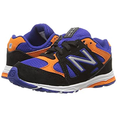 New Balance Kids KJ888v1 (Infant/Toddler) (Black/Blue) Boys Shoes