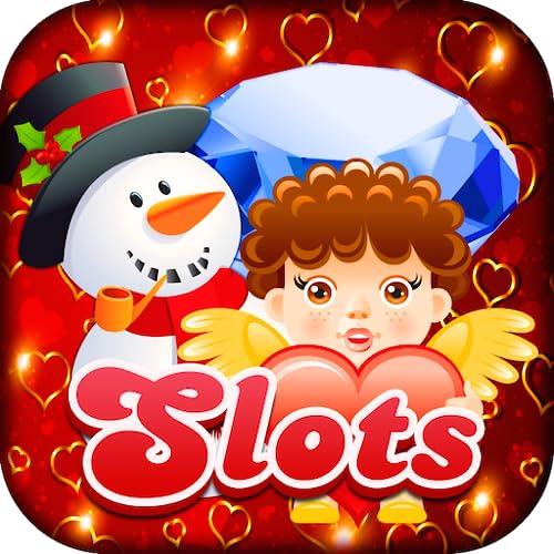 Slots Juwelen der Liebe & Partnerschaft Kasino-Spielautomaten & Bonus Card Spiele für Android und Kindle Fire