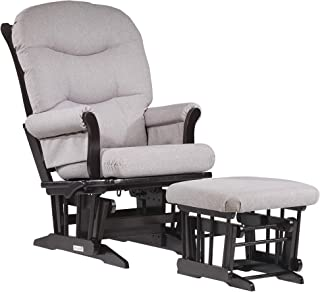 Dutailier Adele 0369 Glider Multiposition-Lock Recline with Ottoman