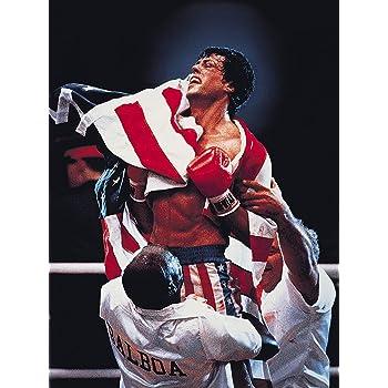 Movie Poster Rocky IV (1985) 24x36