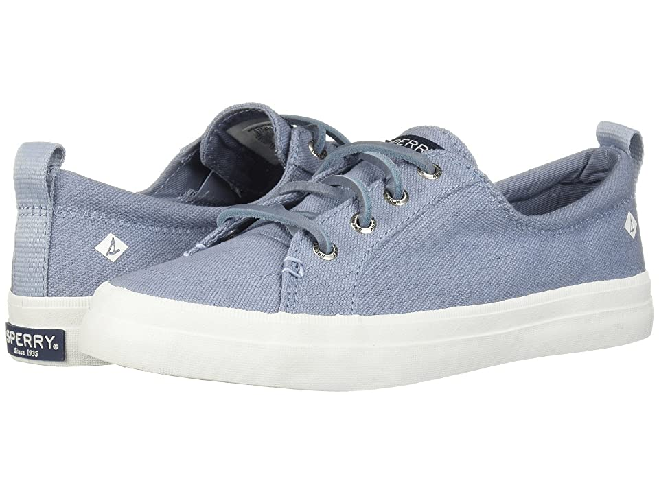 Sperry Crest Vibe Linen Seasonal (Dusty Blue) Women