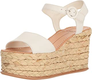 f2447d4cf77b Amazon.com  Ivory - Platforms   Wedges   Sandals  Clothing