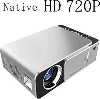 Mcwell Mini Projector,2500 Lumens LED Portable Full HD Multimedia Home Theater Video Projector 1080P Support for Home Cine...