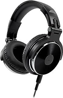 KitSound KSNDJBK Kitsound KSDJ DJ Over-Ear Headphones Compatible with Smartphones, Tablets and MP3 Devices - Black