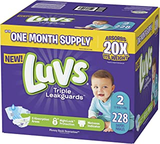 Best luvs nighttime diapers Reviews
