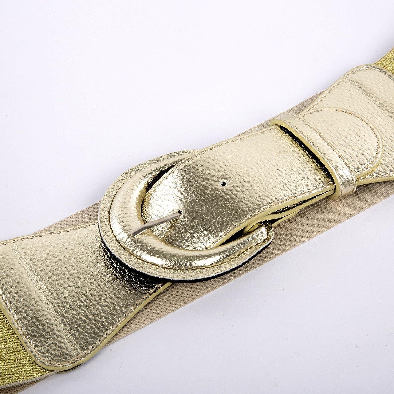 3XL,Brown 469-4 GRACE KARIN Stylish Adult Wide Corset Belts for 1950s Vintage Dress