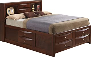 glory furniture storage bed