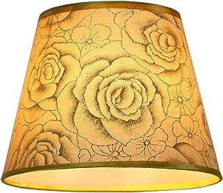 OSALADI Paralume in Stoffa su Lampadina Paralume in Tessuto a Barilotto Coprilampada di Protezione per Lampada da Tavolo Lampadario Lampada da Parete Lampadine a Candela Lampada da Terra