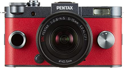 Pentax Q System Q-S1 12.4MP Compact System Camera with 3-Inch LCD and5-15mm f/2.8-4.5 (Metallic)