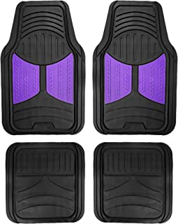 FH Group F11313PURPLE Rubber Floor (Purple Full Set Trim to Fit Mats)