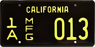 Celebrity Machines Mustang GT 350 | Shelby Cobra | Metal Stamped License Plate