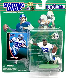 Emmitt Smith / Dallas Cowboys 1998 Starting Lineup Football Action Figure & Accessories