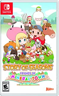 Story of Seasons Friends of Mineral Town Nintendo Switch Games and Software