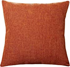 "Pillowcase Covers, U'Artlines Slubbed Linen Pillow Case Decorative Cushion Cover Pillowcase for Sofa Pillow Cover (18""x18""..."