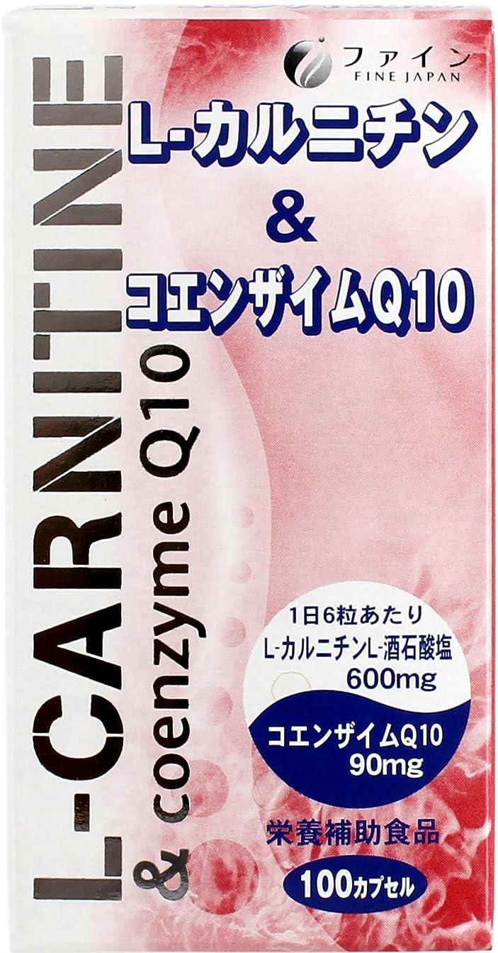 毎月省リムファイン 健康食品(サプリメント) L-カルニチン&コエンザイムQ10 100カプセル
